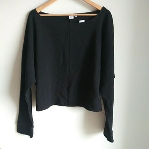 Gap cropped dolman sleeve pullover sweater NWT